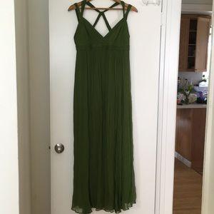 BCBG MAXAZRIA Gorgeous Maxi Chiffon Dress